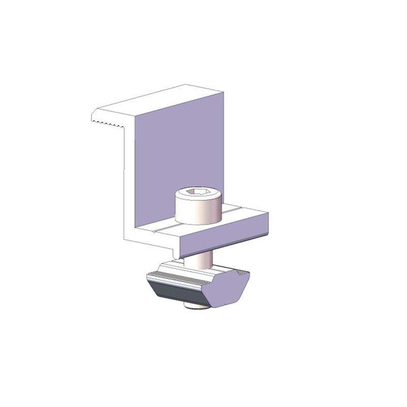 Kraštiniai rėminių modulių laikikliai Image